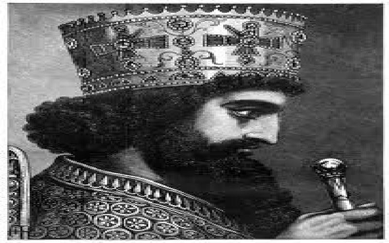 The First Invasion of Greece by the Persian King Xersis