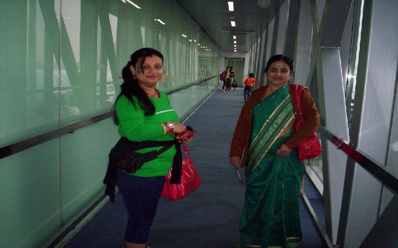 Charm of Air journey from Kolkata to Chennai