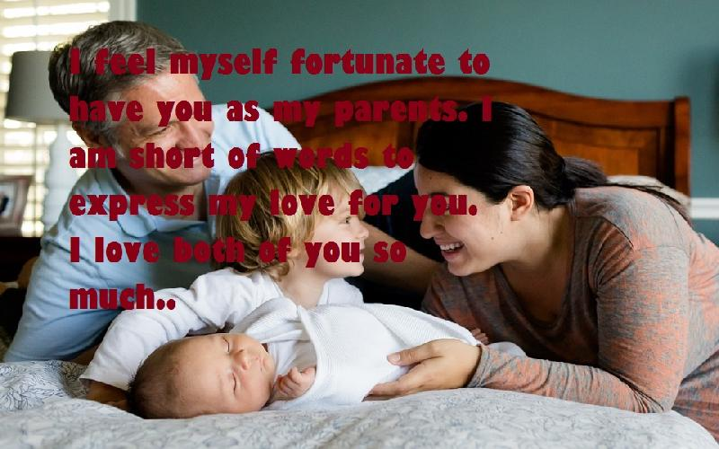 28 Beautiful Love Quotes for Parents from Child