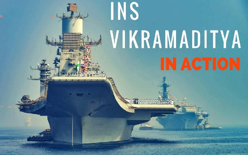Indian Defense Review Reveals that Navy wants three Aircraft Carrier Force
