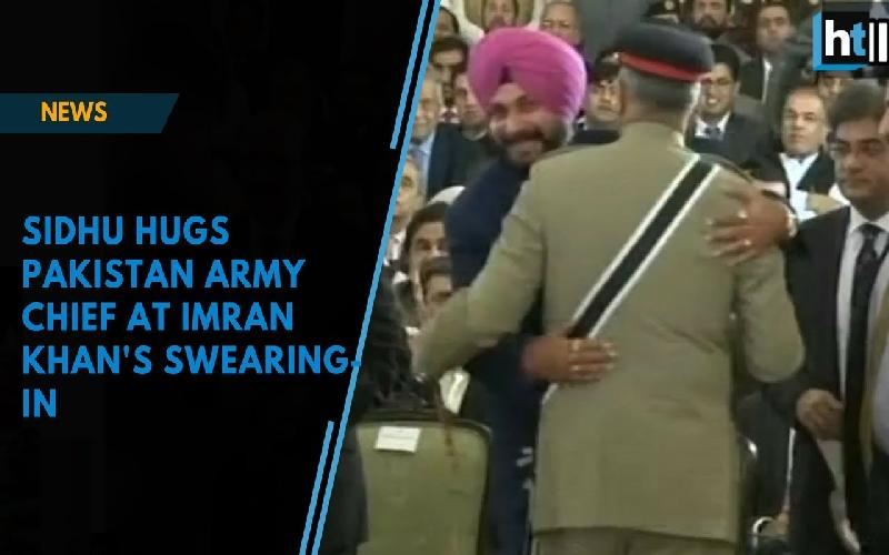 Navjot Sidhu hugs General Bajwa and Indian's are incensed :Is it Justified?