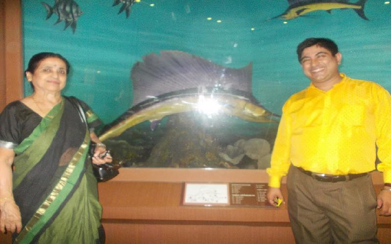 The Pisces and Reptile Section of Indian Museum Kolkata is Amazing