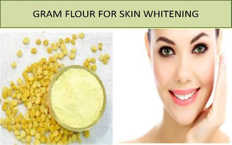 6 Home Made Gram Flour (Besan) Face Packs for Skin Whitening