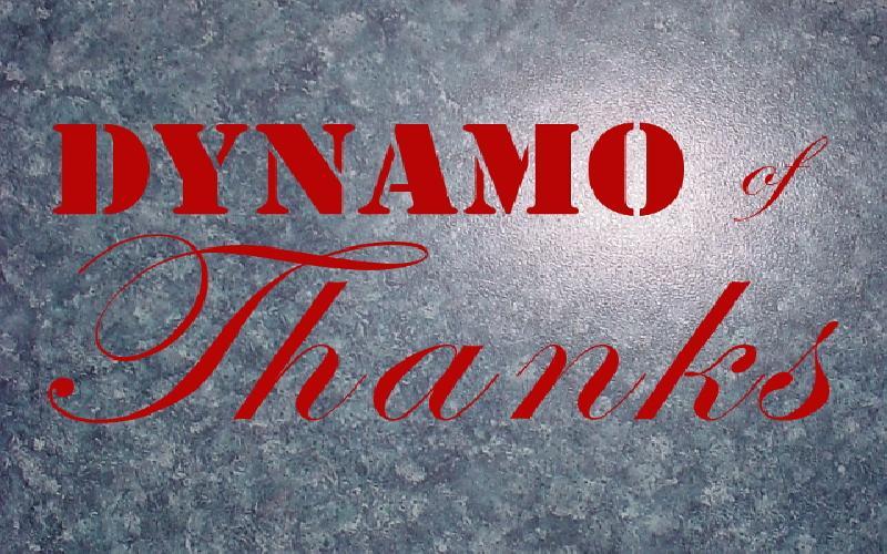 Dynamo Of Thanks