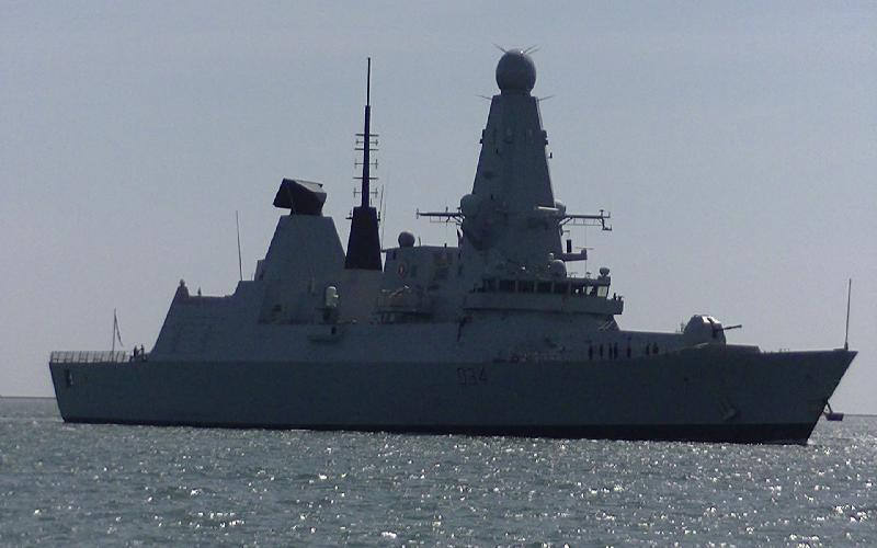British Warship HMS Diamond has to Retire from Gulf due to Engine Problems