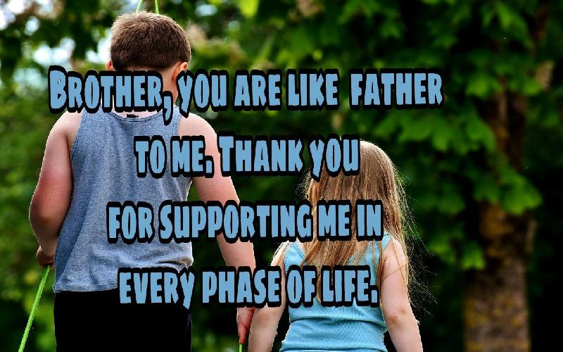 Thank You Messages For Brother | Sweet Thank You Quotes and Notes to Brother | How to Thank Your Brother