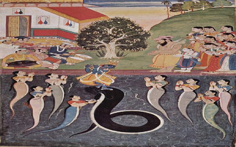 Krishna - An Avataar of Vishnu