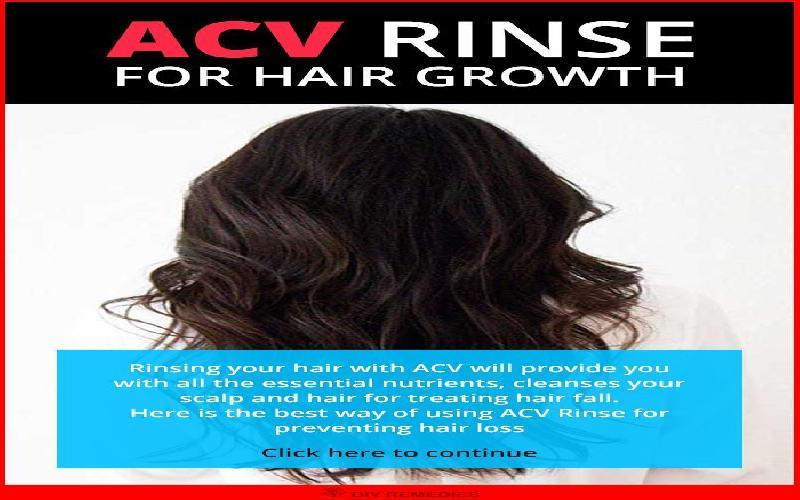 5 Ways Apple Cider Vinegar Improves Hair Growth and Prevent Hair Loss