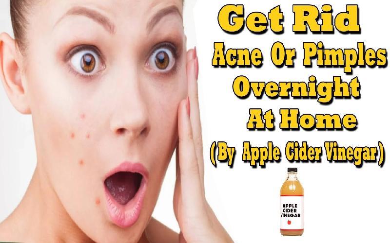 How to Apply Apple Cider Vinegar on Face Overnight?