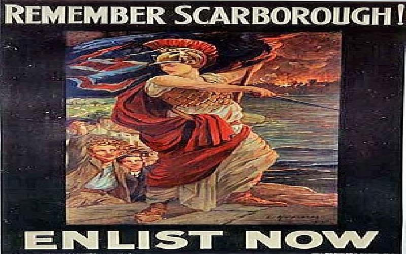 The Scarborough Raid 16th December 1914