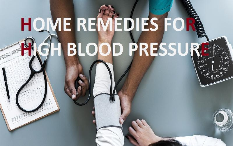 Home Remedies for High Blood Pressure - Reduce High BP Naturally at Home