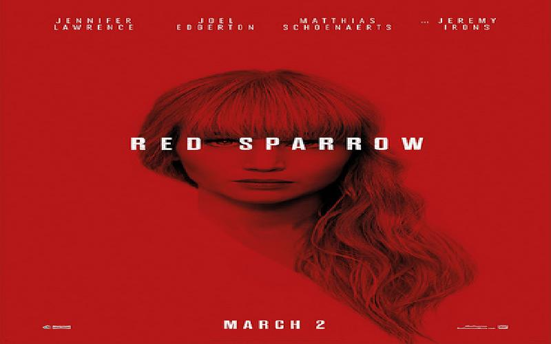 Movie Review of Red Sparrow