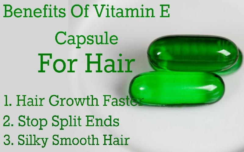 How to Use Vitamin E Capsules for Hair?