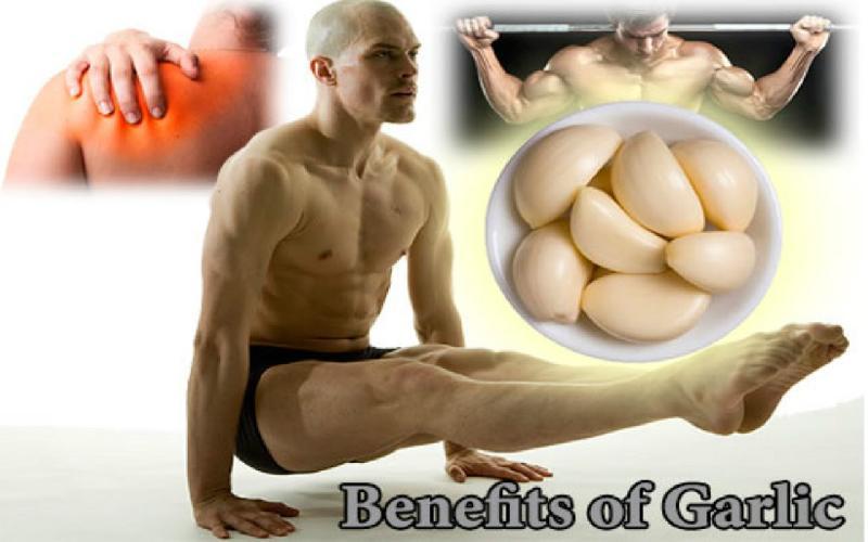 Benefits of garlic for men