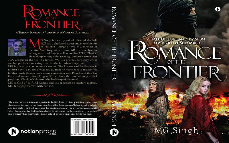 Lessons of writing the novel 'Romance of teh Frontier'