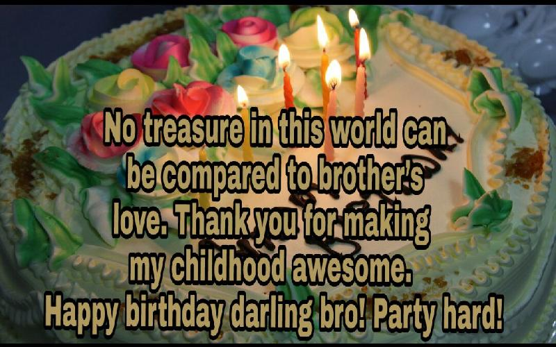 Birthday Wishes and Messages for Brother