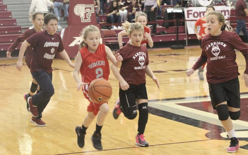Somers Girls get a Lesson in Life and Basketball 101 at Fordham University