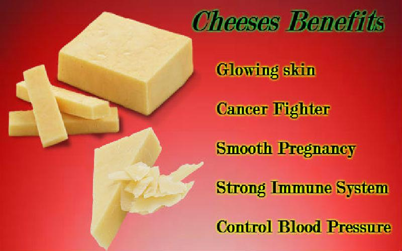 12 Benefits of Cheese, Advantages of Eating Cheese