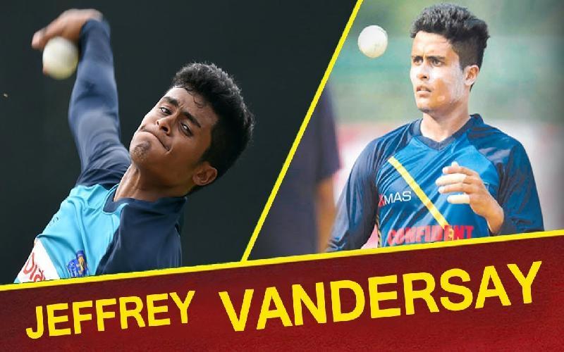 Lanka send back leg-spinner Jeffery Vandersay for Indiscipiline