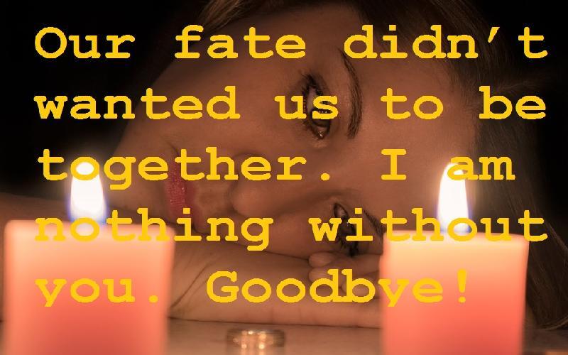 43 Sad Goodbye Quotes