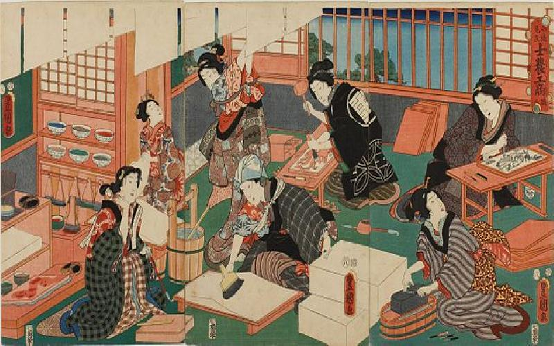 The Art of Japanese Block Printing