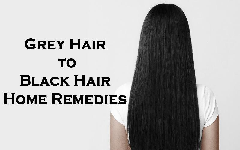 6 Best Home Remedies to Turn Grey Hair into Black Fast