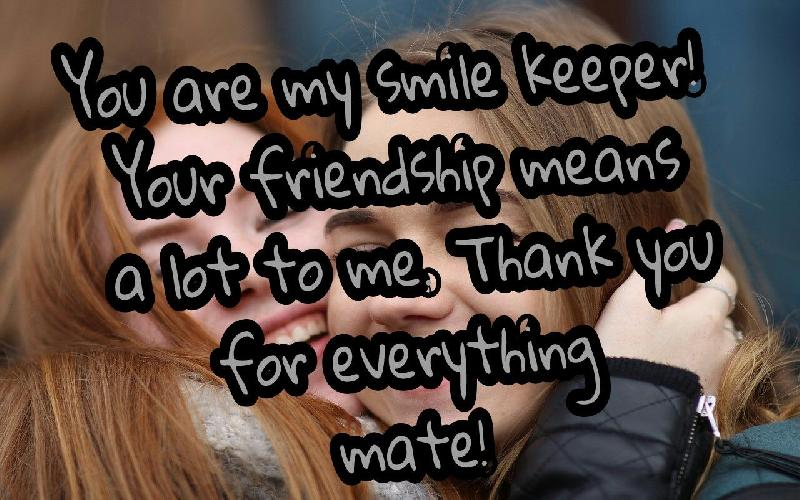 Thank You Messages and Quotes For a Friend