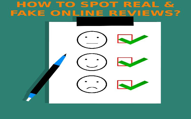 How to Spot Real & Fake Online Product Reviews?