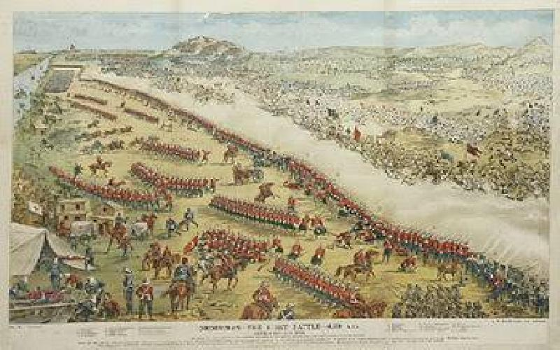 The Battle of Omudurman
