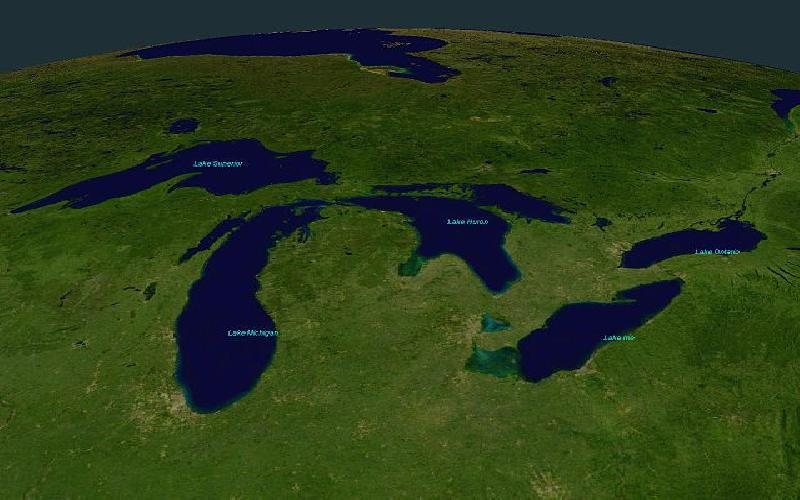 Endangering the Great Lakes of North America : Will we Learn to Respect Nature?