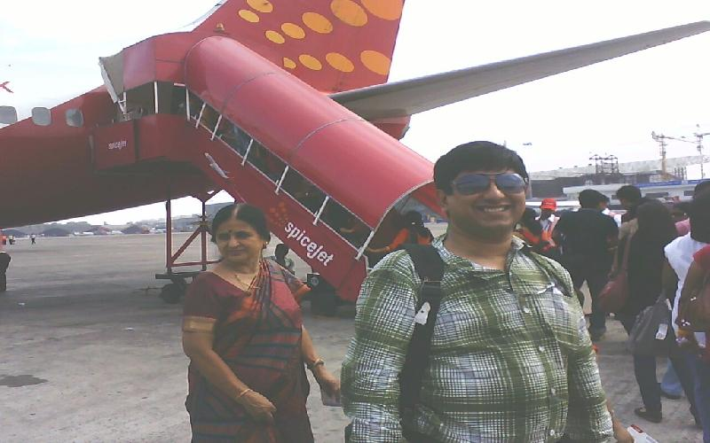 The cheerful experience of Spice Jet Journey from Kolkata to Bagdogra.