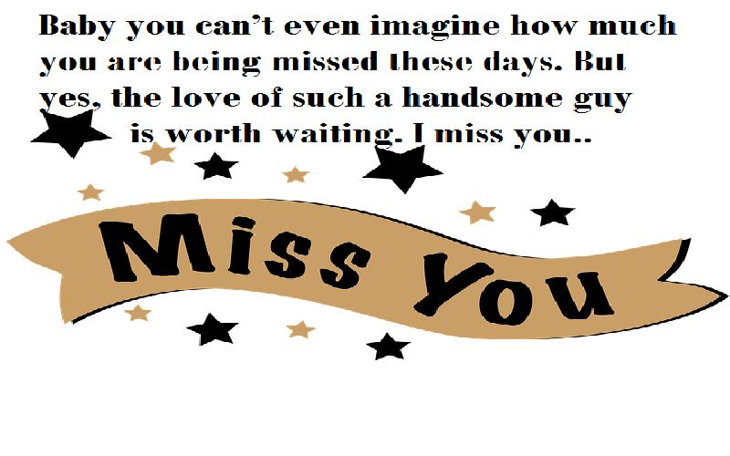 I Miss You Quotes And Messages For Boyfriend