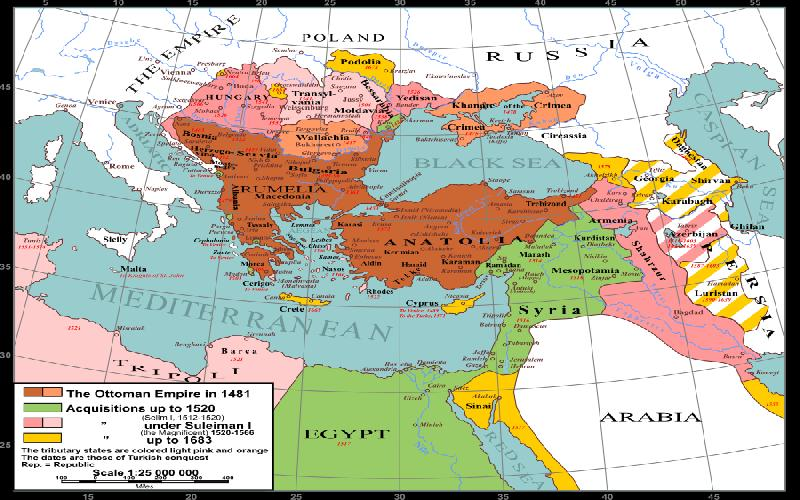 The Influence of the Ottoman Turks on the Middle East