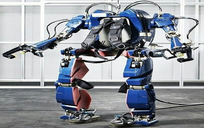 "Hyundai Flaunts what could be the Next Big Thing- An ""Iron Man"" Style Robotic ExoSkeleton"