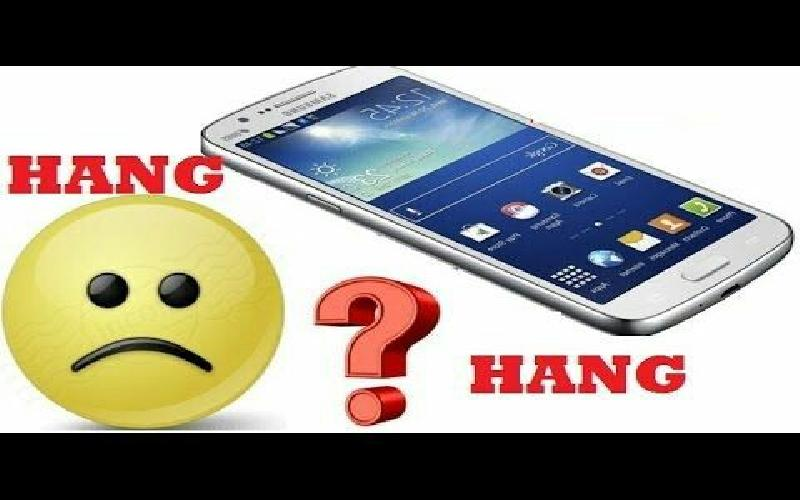 The causes why your android is hanging up and sometimes can't send text.