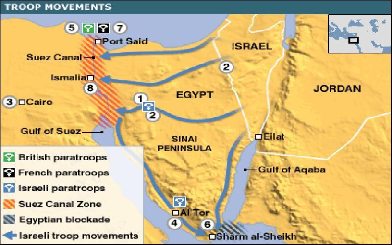 The Suez Canal War