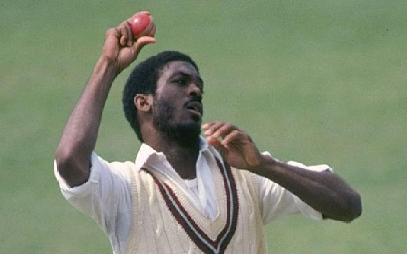Michael Holding as a fast bowler was an artist.