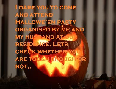 Tag Invitation Quotes For Halloween Celebration